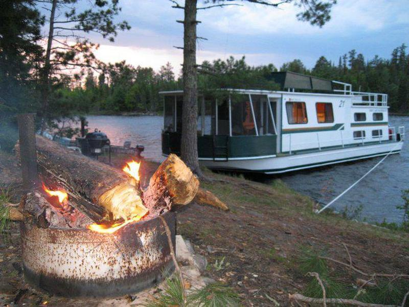 Pull up to a campfire will the comforts of home Photos