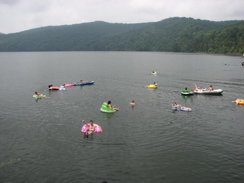 Bring along your rafts and tubes for endless fun and relaxation