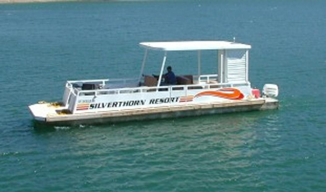 Silverthorn Patio Boat