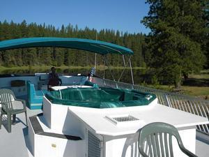 SuperCruiser Houseboat w/ Hot Tub