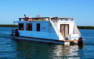 Tiki Shack Houseboat