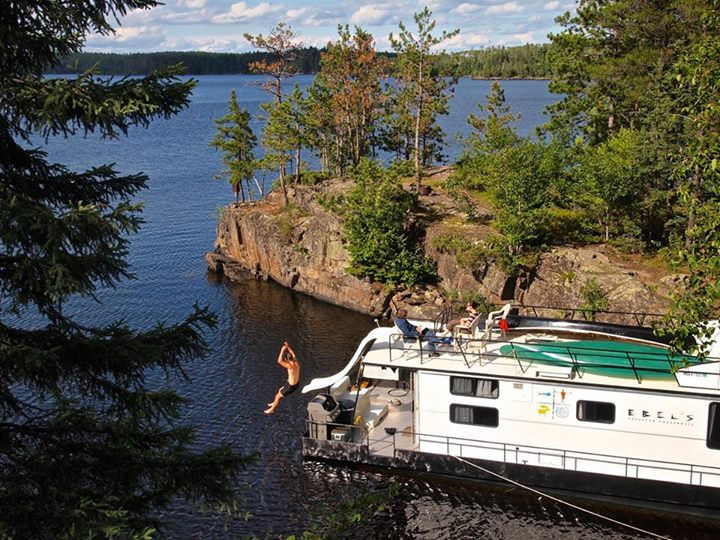 Voyageurs National Park Slide