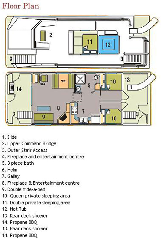 42 foot mirage houseboat download gibson houseboats floor plans boat plans