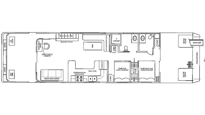 59 Foot Sumerset Houseboat