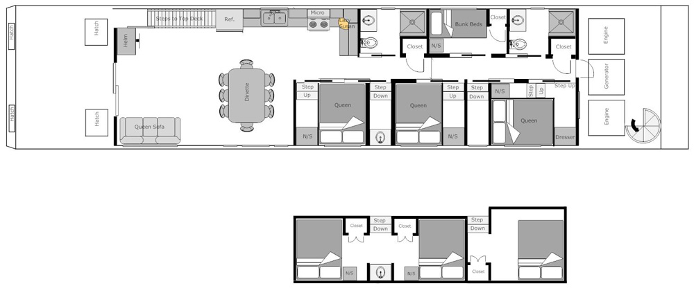 Tugboat moreover Plansboaters blogspot as well Bd3f99851b15753e Floating Boat House Floor Plans Building A Floating Home moreover Boat House Plans together with Free Pontoon Boat Plan. on lake houseboat plans