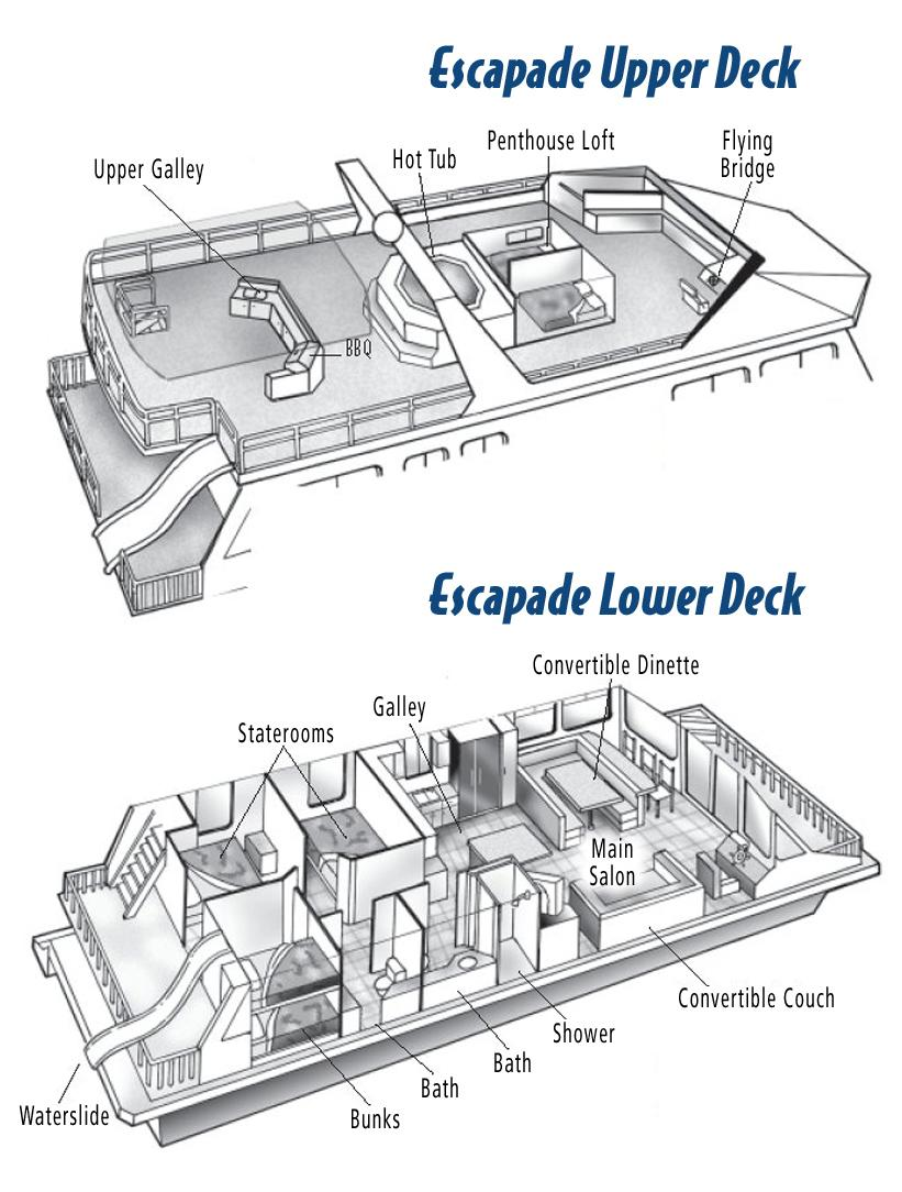 Displaying 15> Images For - Luxury Houseboat Floor Plans...