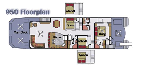 76 Legend Houseboat