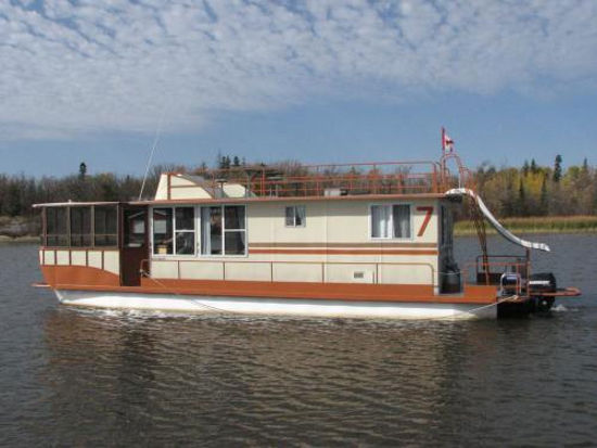 44 Foot Houseboat