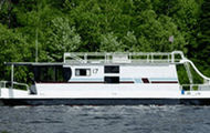 50' Deluxe Royalist Houseboat