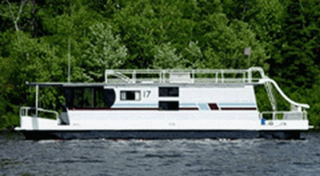 50 Foot Deluxe Royalist Houseboat