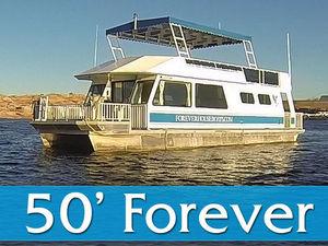 50' Forever Houseboat