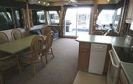 60' Silver Houseboat