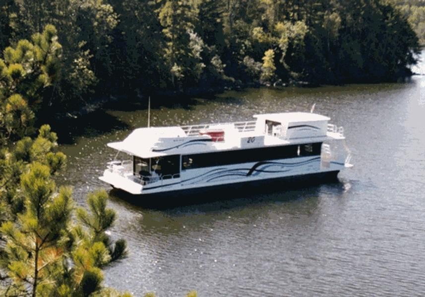 60 Foot Cruiser Houseboat
