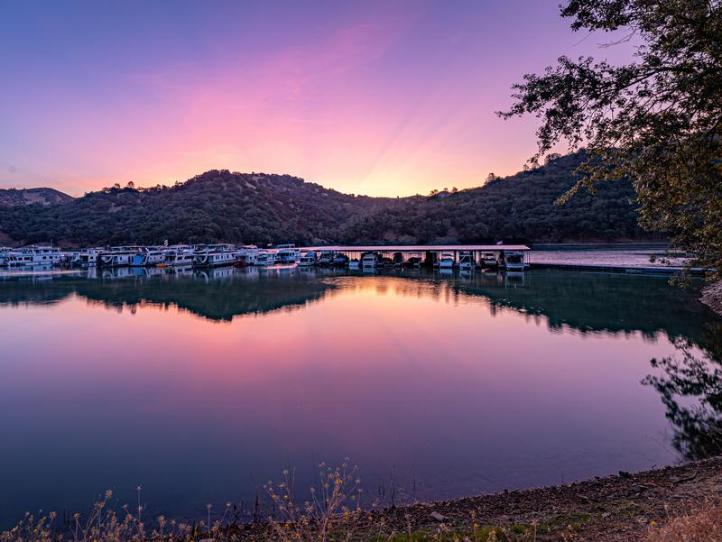 Pleasure Cove Marina at Sunset Photos