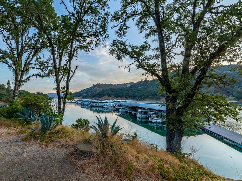A view from above on Lake Berryessa Photos