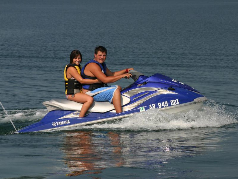 Get into some action on a personal watercraft Photos
