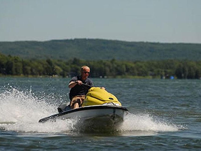 Get away with speed and agility on a personal watercraft Photos