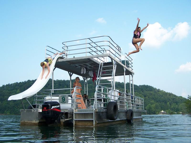 Take out a patio boat for the day to enjoy an adventurous afternoon Photos