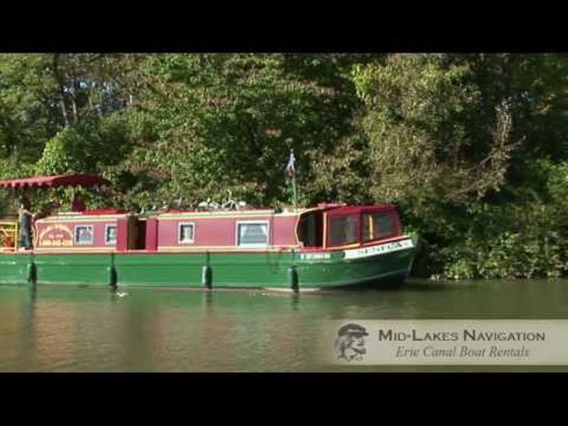 Boating the Erie Canal Video Photos