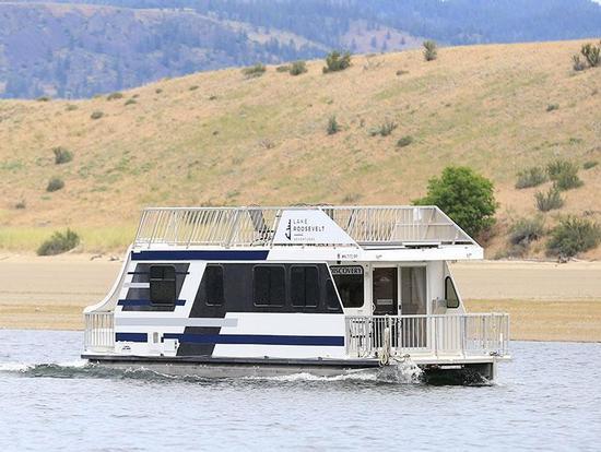 Lake Roosevelt - Houseboats Rentals