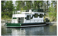 37' Honeymooner Houseboat