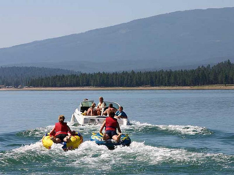 Tubing is an intense and thrilling activity Photos