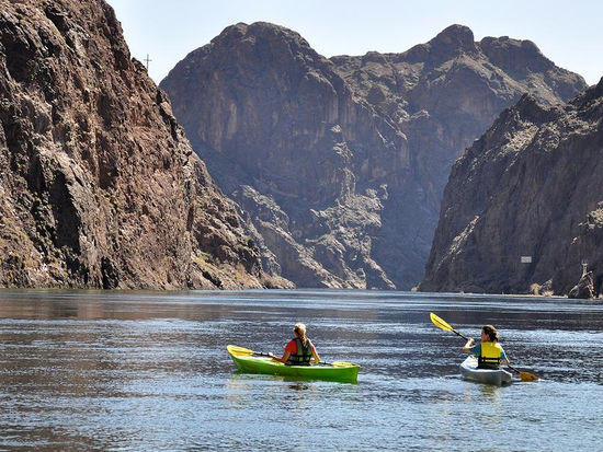 Experience Meads beauty at new levels by kayaking its canyons