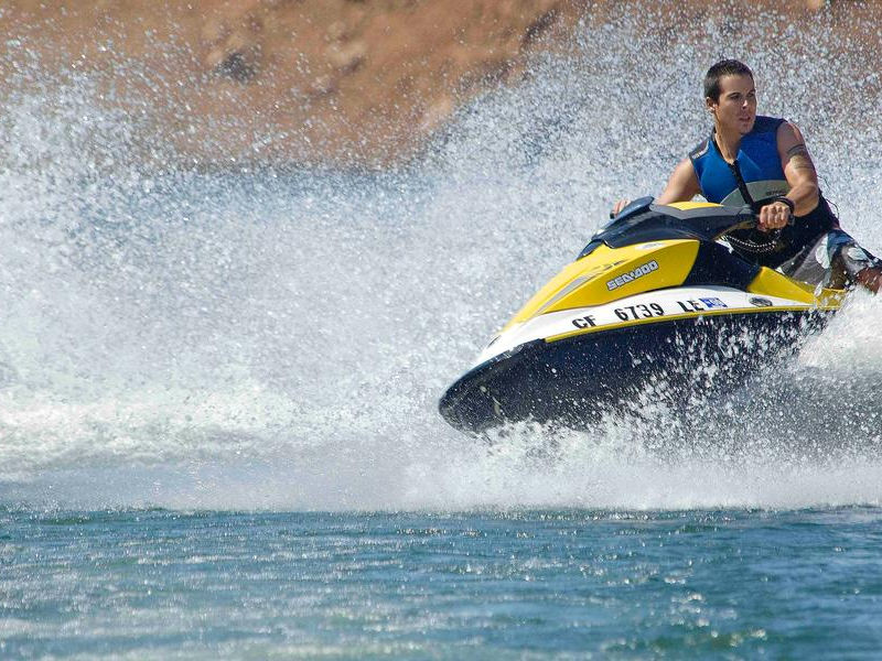 Keep things exciting and cruise the lake at a faster speed Photos