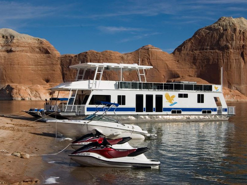 Maximize the fun on your trip with personal watercrafts and a ski boat Photos