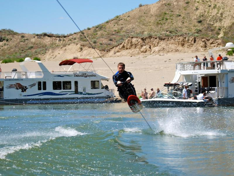 Show off your wake boarding skills Photos