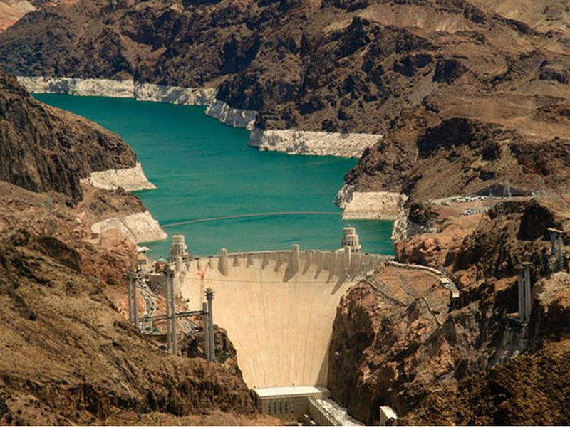 The massive Hoover Dam is a sight to see in its own right Photos
