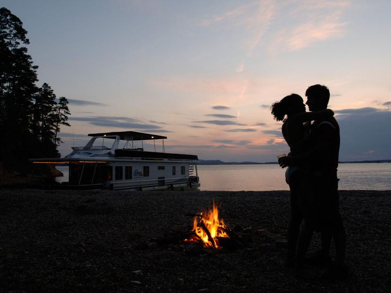 Reconnect during a romantic night by the fireside Photos