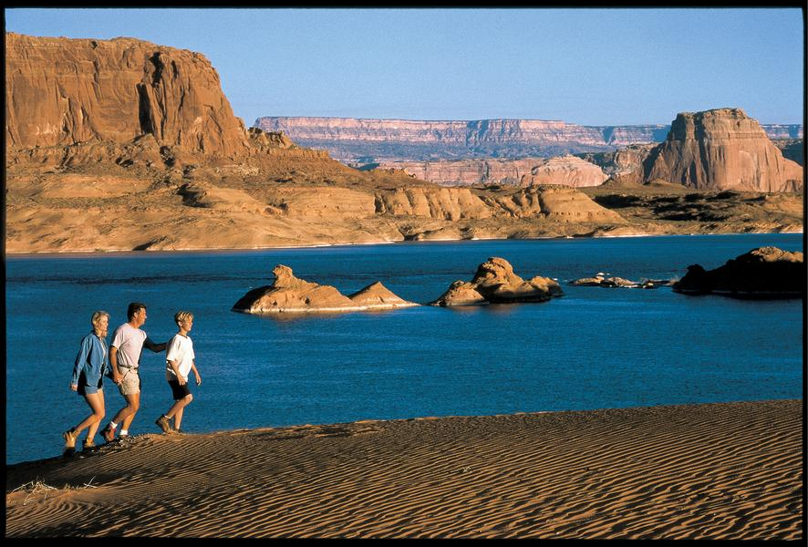 Explore Some Of The Best Hiking At Lake Powell