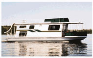 42' Minnitaki Houseboat