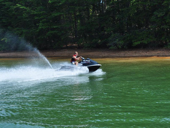 Personal Watercraft at Parrot Cove