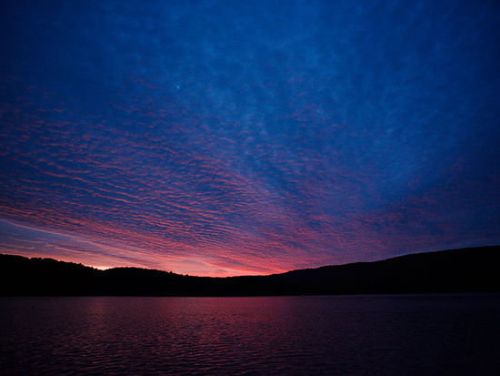 Raystown Lake - Spectacular Sunset