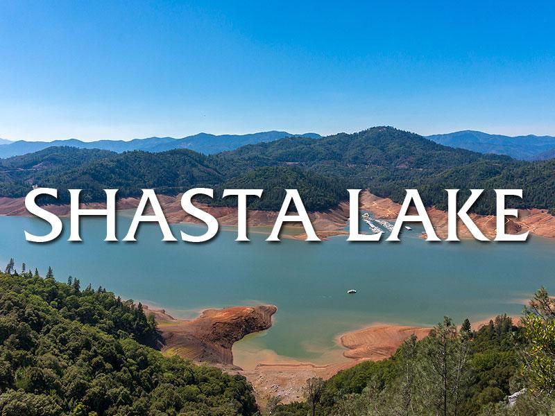 Scenic Shasta Lake Photos