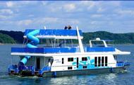 87' Paradise Houseboat