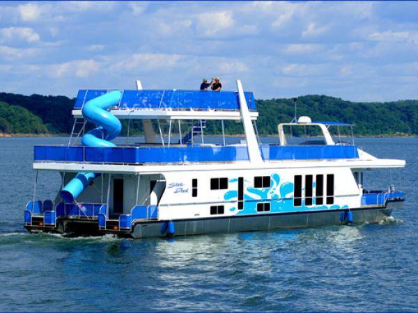 National Tv Sales Rental: 87' Paradise Houseboat