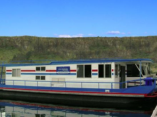 Sleeper Houseboat Lake Billy Chinook Houseboats