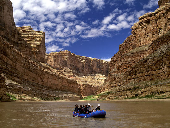 Whitewater Rafting Adventures to Lake Powell