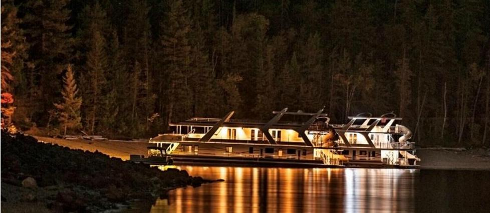 Magical Night at Shuswap Lake