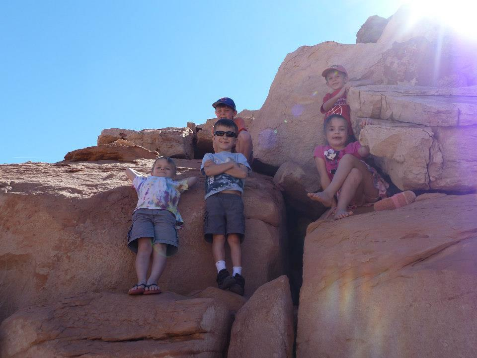 Hiking is fun for all ages at North Lake Powell
