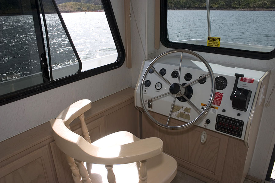 Voyager Houseboat Captains Chair