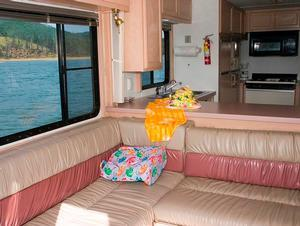 Voyager Houseboat Lounge Area